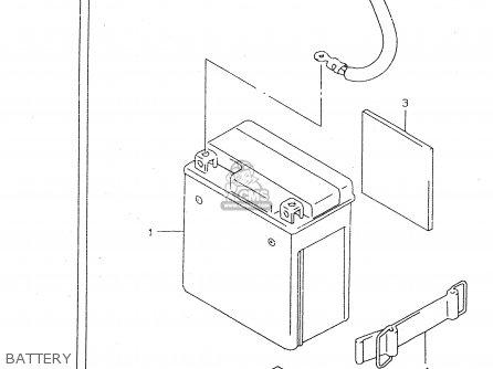 Suzuki Dr125 1999 (sex) parts list partsmanual partsfiche
