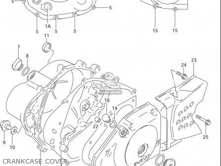 Suzuki Dr125 Se 1994-1996 (usa) parts list partsmanual