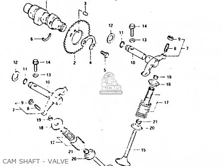 Suzuki DR125S 1982 (Z) parts lists and schematics