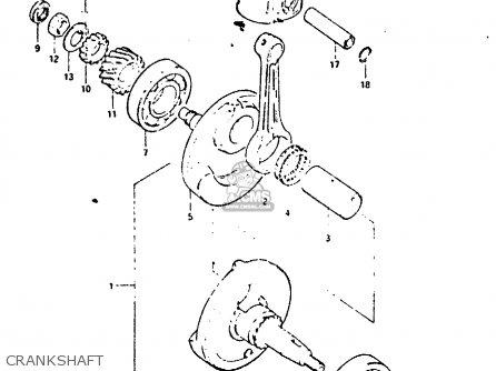 Suzuki DR125S 1983 (D) parts lists and schematics