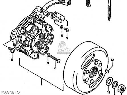 Suzuki Dr125s 1987 (h) (e01 E02 E04 E15 E18 E21 E24) parts