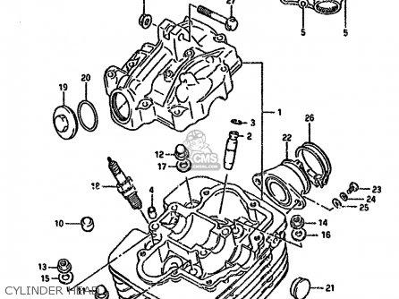 Suzuki DR125S 1988 (J) UNITED KINGDOM FRANCE FINLAND (E02