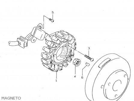 Suzuki DR125SE 1994 (R) GENERAL FRANCE ITALY (E01 E04 E34