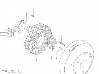 Suzuki DR125SE 1994 (R) USA (E03) parts lists and schematics