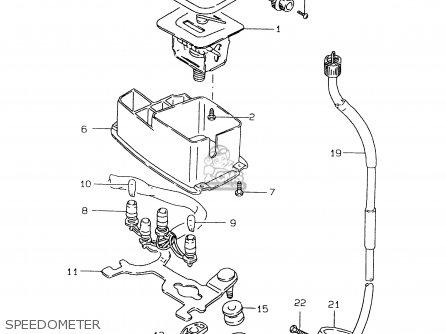 Suzuki DR125SE 1995 (S) FRANCE GERMANY (E04 E22) parts
