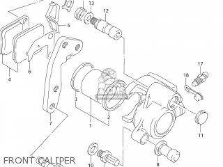 Suzuki Dr125se 1995 (s) Usa (e03) parts list partsmanual