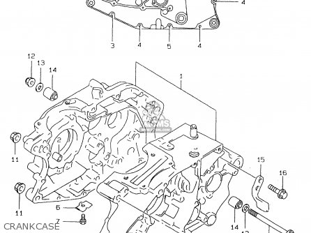 Suzuki DR125SE 2000 (Y) parts lists and schematics