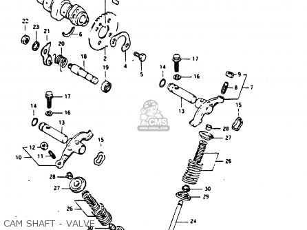 Suzuki DR200 1986 (G) parts lists and schematics