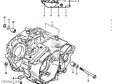 Suzuki Dr200 1986 (g) parts list partsmanual partsfiche