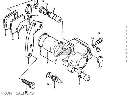 Suzuki DR200 1986 (G) parts lists and schematics