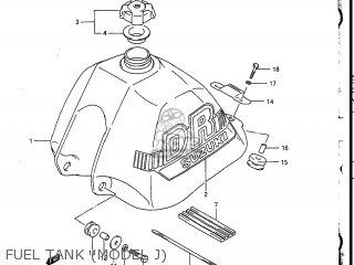 Suzuki Dr200 1986 (g) Usa (e03) parts list partsmanual