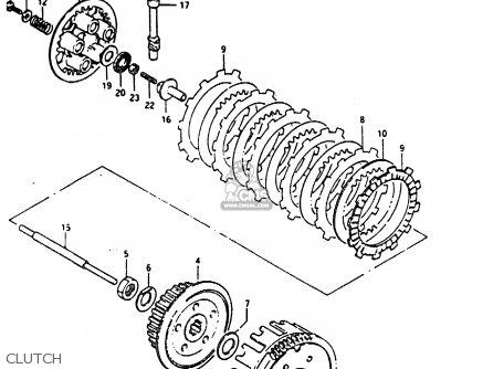 Suzuki Dr200 1987 (h) parts list partsmanual partsfiche