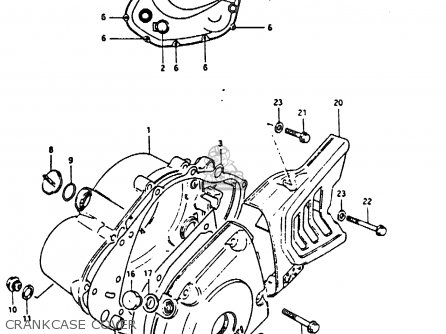 Suzuki Dr200 1987 (h) parts list partsmanual partsfiche