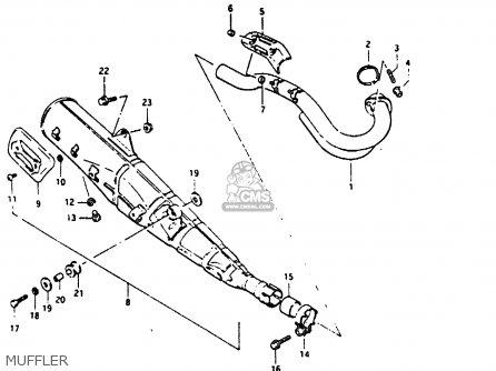 Suzuki DR200 1987 (H) parts lists and schematics