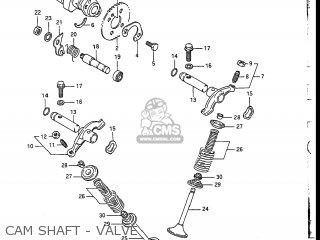 Suzuki Dr200 1987 (h) Usa (e03) parts list partsmanual partsfiche