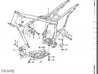 Suzuki DR200 1987 (H) USA (E03) parts lists and schematics