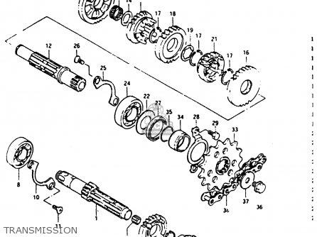 Suzuki DR200 1988 (J) parts lists and schematics