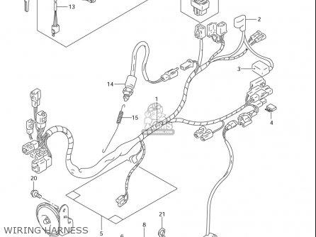 Suzuki Dr200 Se (usa) parts list partsmanual partsfiche