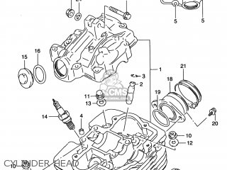 Suzuki Dr200se 1996 (t) Usa (e03) parts list partsmanual