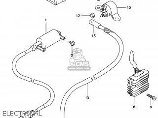 Suzuki Dr200se 1996 (t) Usa (e03) parts list partsmanual