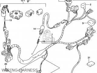 Suzuki DR200SE 1996 (T) USA (E03) parts lists and schematics