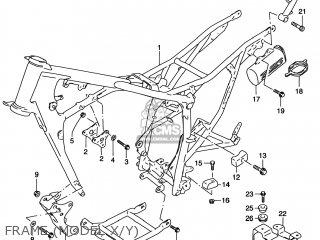Suzuki Dr200se 2000 (y) Usa (e03) parts list partsmanual