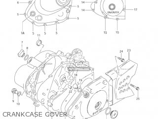 Suzuki Dr200se 2001 (k1) Usa (e03) parts list partsmanual