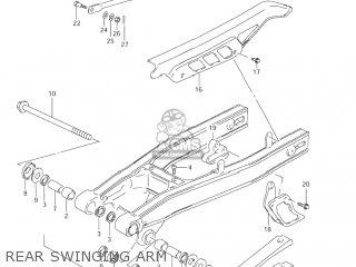 Suzuki Dr200se 2001 (k1) Usa (e03) parts list partsmanual