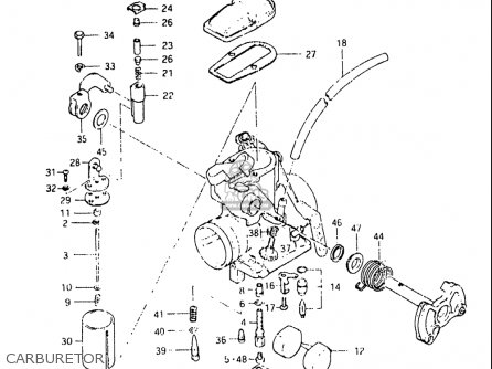 Suzuki Dr250 1982-1983 (usa) parts list partsmanual partsfiche