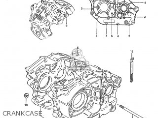 Suzuki DR250 1985 (F) USA (E03) parts lists and schematics
