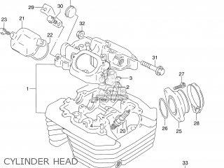 Suzuki Dr250 1992 (n) Usa (e03) parts list partsmanual