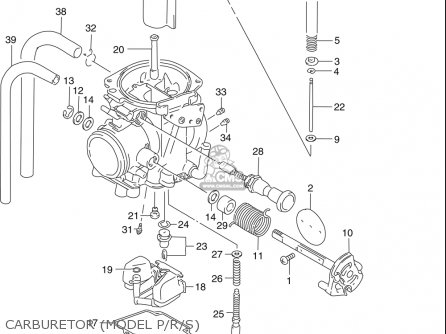 Suzuki Dr250 Se 1990-1995 (usa) parts list partsmanual