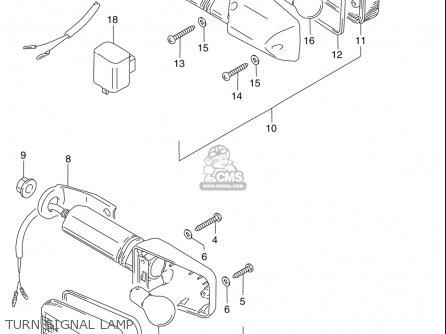 Suzuki Dr250 Se 1990-1995 (usa) parts list partsmanual