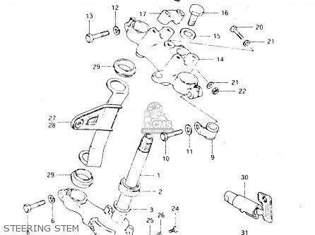 Suzuki Dr250s 1982 (z) parts list partsmanual partsfiche