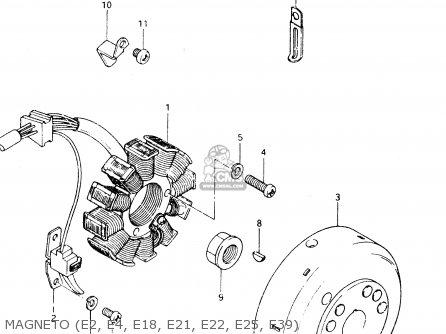 Suzuki DR250S 1983 (D) parts lists and schematics