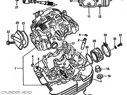 Suzuki DR250S 1984 (E) (E01 E02 E04 E6 E18 E21 E22 E24 E25