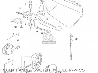 Suzuki DR250SE 1990 (L) USA (E03) parts lists and schematics