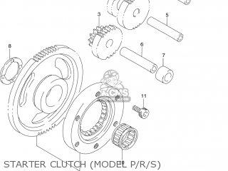 Suzuki Dr250se 1990 (l) Usa (e03) parts list partsmanual