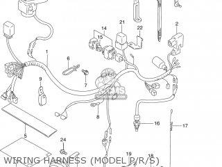 Suzuki DR250SE 1994 (R) USA (E03) parts lists and schematics