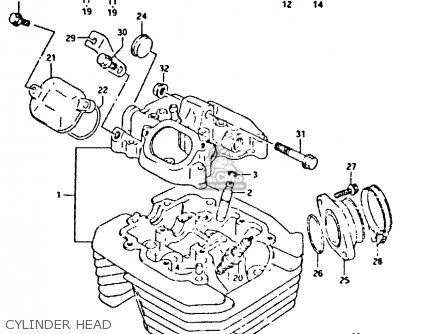 Suzuki DR350 1990 (L) parts lists and schematics