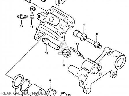 Suzuki Dr350 1990 (l) parts list partsmanual partsfiche