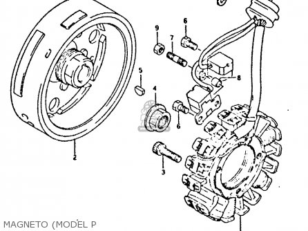 Suzuki Dr350 1991 (m) parts list partsmanual partsfiche
