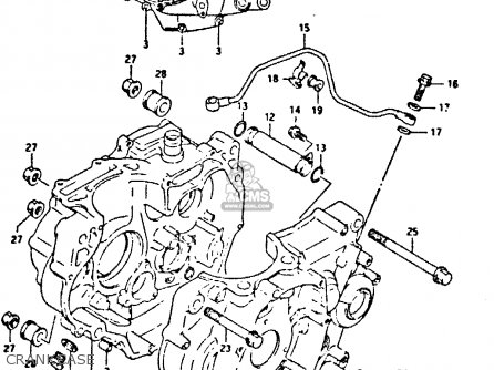 Suzuki Dr350 1992 (n) parts list partsmanual partsfiche