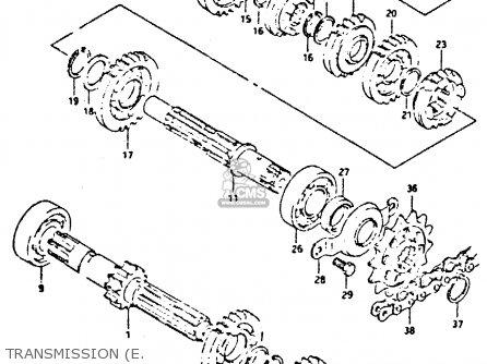 Suzuki DR350 1992 (N) parts lists and schematics