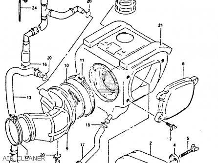 Suzuki Dr350 1993 (p) parts list partsmanual partsfiche