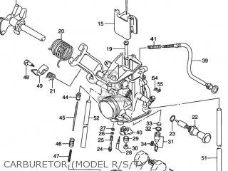 Suzuki Dr350 1993 (p) Usa (e03) parts list partsmanual