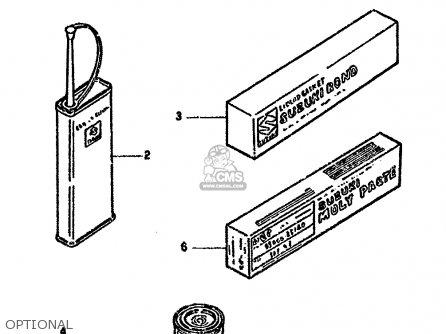 Suzuki Dr350 1993 (sup) parts list partsmanual partsfiche