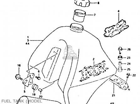Suzuki DR350 1995 (S) parts lists and schematics