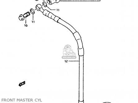 Suzuki Dr350 1996 (t) parts list partsmanual partsfiche