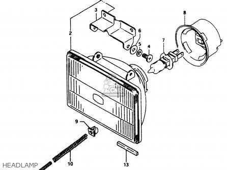 Suzuki DR350 1997 (V) parts lists and schematics